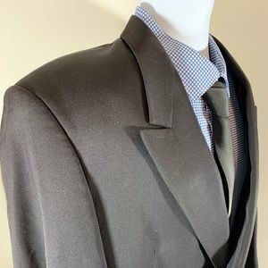 Chagall De France Black Double Breast Blazer 38S